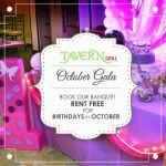 October Banquet Offer