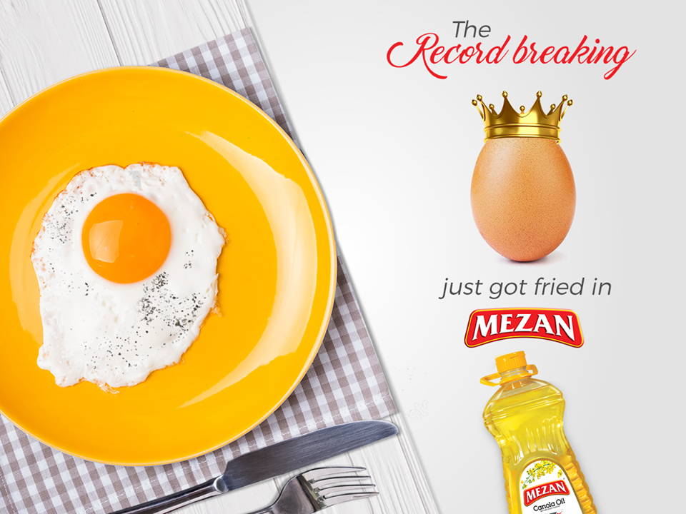Meezan Cooking Oil Egg Trend