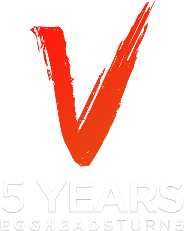 5 years of growth logo