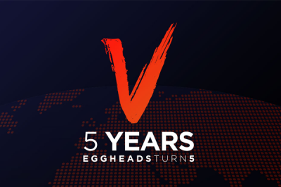 5 years of growth logo pr