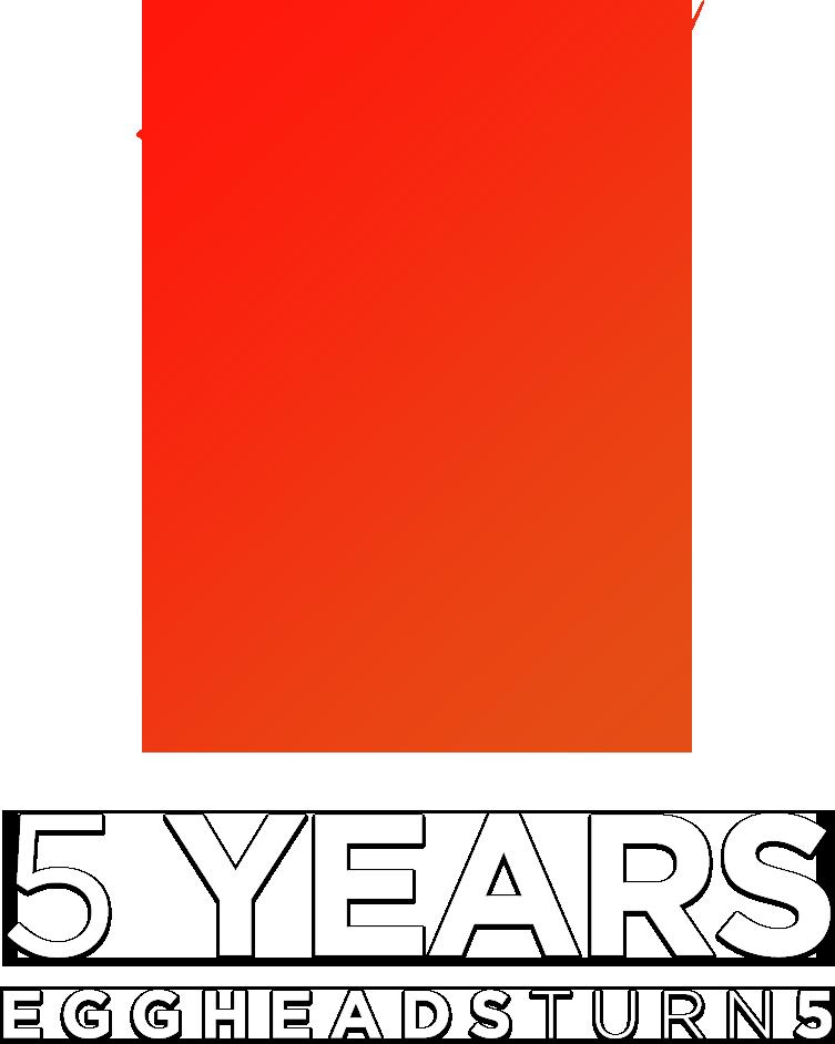 5Year PopUp Logo