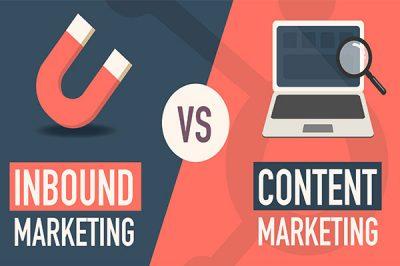 Inbound Marketing vs Content Marketing Featured