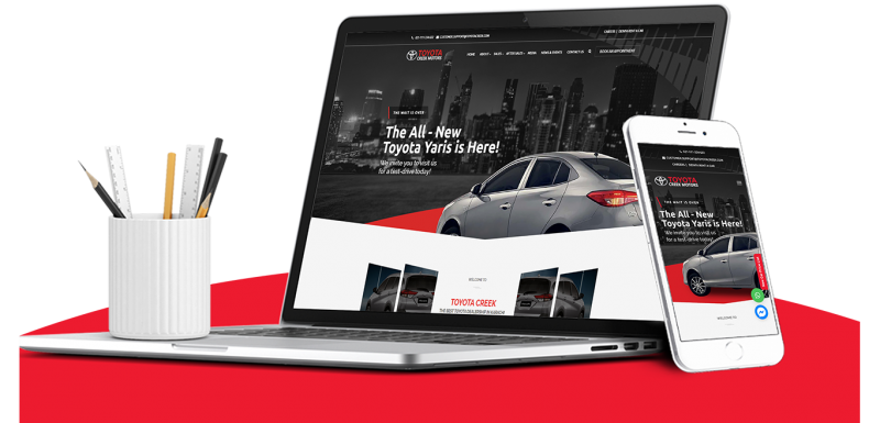 ToyotaCreek Website Development